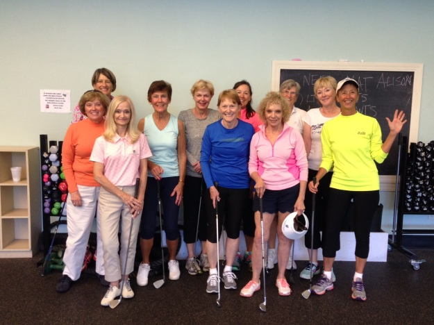 Women's Golf Fitness 1